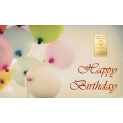 "Aukso luitelius ""Su gimtadieniu"""