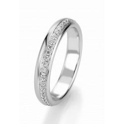 Žiedas Breuning Bridal 3 su 36 cirkoniais (sidabrinis)