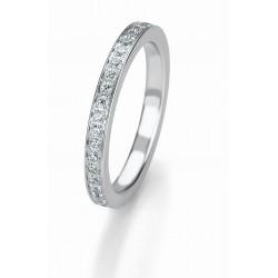 Žiedas Breuning Bridal 3 su 48 cirkoniais (sidabrinis)