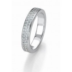 Žiedas Breuning Bridal 3 su 29 cirkoniais (sidabrinis)