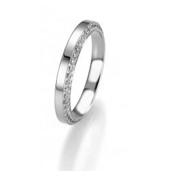 Žiedas Breuning Bridal 3 su 96 cirkoniais (sidabrinis)