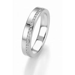 Žiedas Breuning Bridal 3 su 44 cirkoniais (sidabrinis)