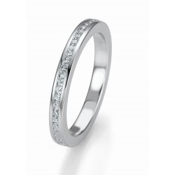 Žiedas Breuning Bridal 3 su 46 cirkoniais (sidabrinis)