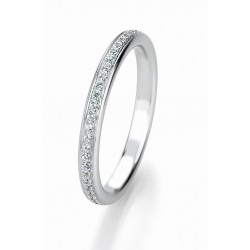 Žiedas Breuning Bridal 3 su 47 cirkoniais (sidabrinis)