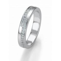 Žiedas Breuning Bridal 3 su 52 cirkoniais (sidabrinis)