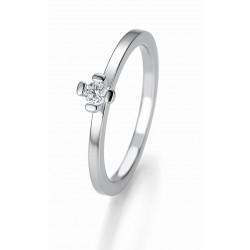 Žiedas Breuning Bridal 3 sidabrinis su cirkoniu