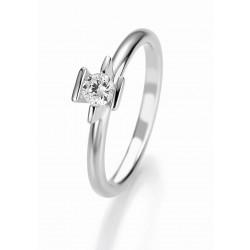 Žiedas Breuning Bridal 3 sidabrinis su 0,25 cirkoniu