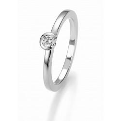 Žiedas Breuning Bridal 3 auksinis su 0,125ct briliantu