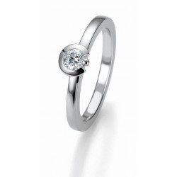 Žiedas Breuning Bridal 3 auksinis su 0,25ct briliantu