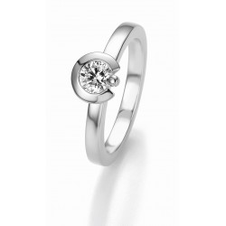 Žiedas Breuning Bridal 3 sidabrinis su 0,5 cirkoniu