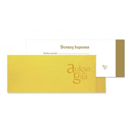 Aukso Gija Dovanų kuponas   100€ - 200€