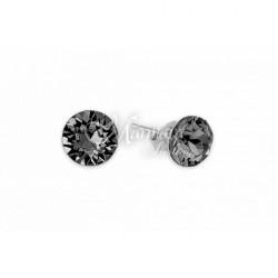 Auskarai MARMARA, sidabriniai su Swarovski elementais
