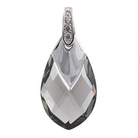 Pakabukas MARMARA, sidabrinis su Swarovski elementais