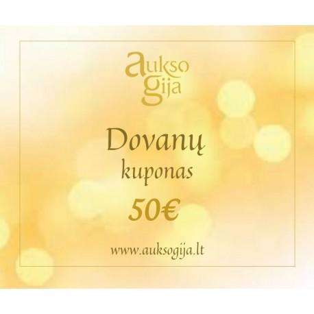Aukso Gija Dovanų e-kuponas 50€