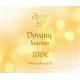 Aukso Gija Dovanų e-kuponas 100€