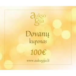 Dovanų E-kuponas 100 Eur