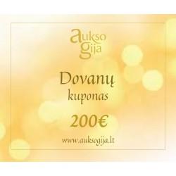 Dovanų E-kuponas 200 Eur
