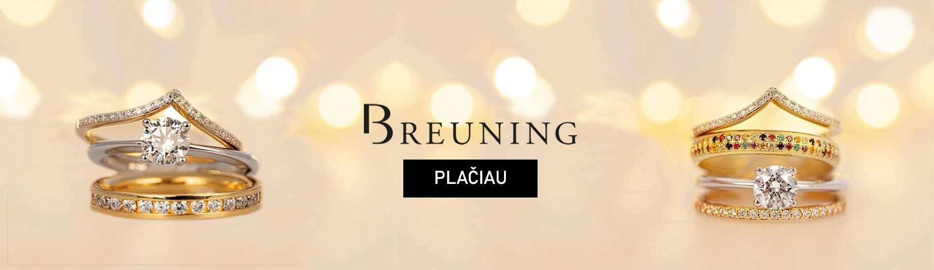 Breuning žiedų kolekcijos